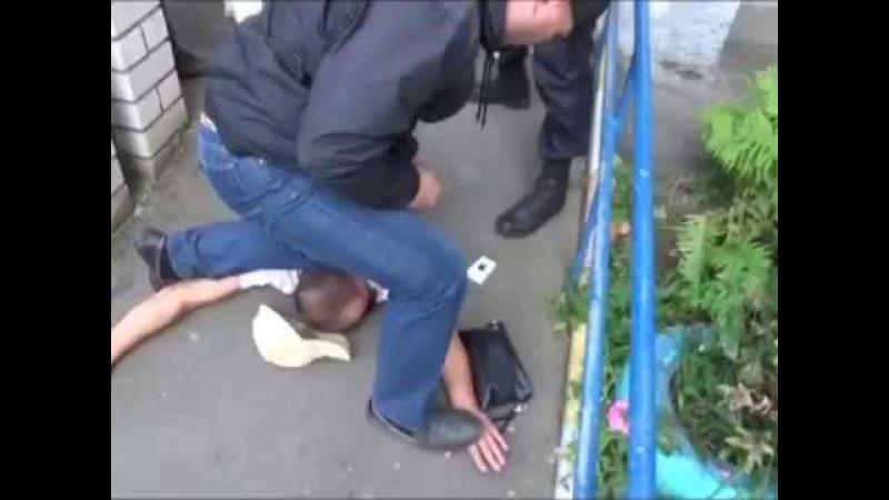 Спецназ ФСКН. Задержание парочки наркоторговцев