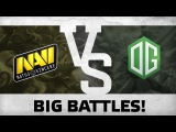Big battles! by NaVi vs OG @Starladder | i-League European Qualifier