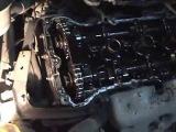 Замена прокладки клапанной крышки задней опоры двигателя Nissan Sunny