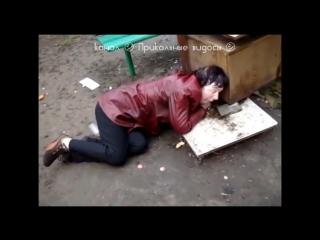 ㋛ Сборочка - алкаши_ бичи_ бомжы_ водка и драки - Выпуск № 6 ㋛ - 720P HD