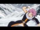 Fairy Tail_Нацу и Хеппи-Игра в снежки