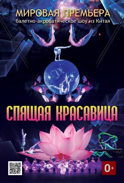 """Афиша Владивосток Балетно-акробатическое шоу """"Спящая красавица""""!"""