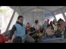 Orlando Bloom navštívil dětské uprchlíky