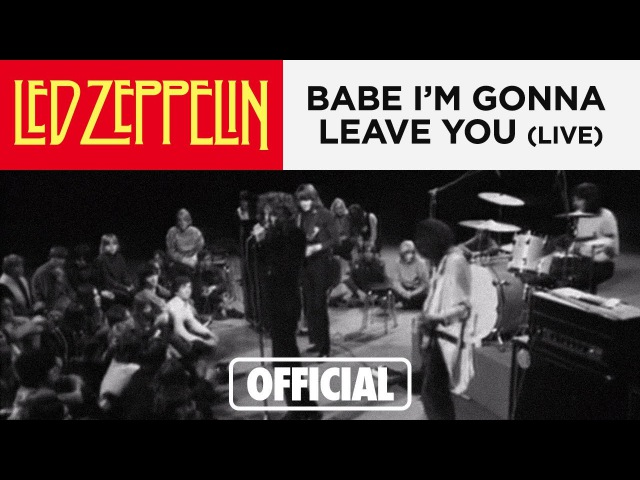 Led Zeppelin Babe I'm Gonna Leave You Danmarks Radio 1969