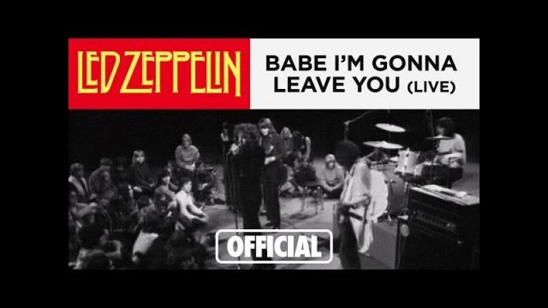 Led Zeppelin - Babe Im Gonna Leave You - Danmarks Radio 3-17-69