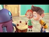 Новый развивающий мультик для детей - Ангел Бэби - Торто Робот  (4 серия)