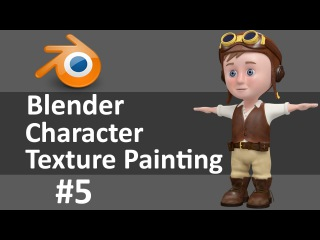 Blender Character Texture Painting 5 of 6