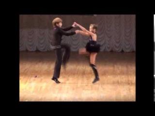 Children dance couple,girl and boy young dancers/Kinder tanzen Paar, Mädchen und Junge junge Tänzer