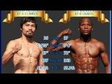 Флойд Мейвезер против Мэнни Пакьяо нарезка лучший моментов(Floyd Mayweather vs. Manny Pacquiao)