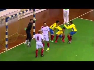 Amazing goal by Colombia (AMF World Cup Futsal 2015)