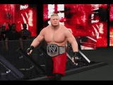 WWE 2K15 (PS4): Brock Lesnar vs Ryback (Extreme Rules Match) 1080p60