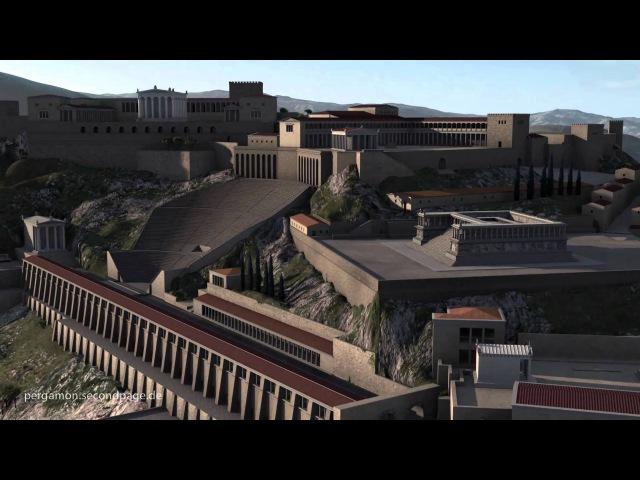 Пергам - эллинистический город в Анатолии