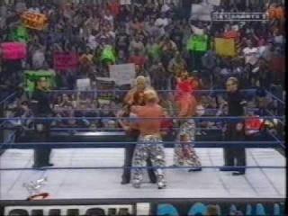 The Hardy Boyz and Lita Dance with Too Cool