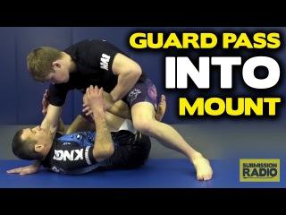 Pass butterfly guard straight into Full mount - by UFC Lightweight Jake Matthews