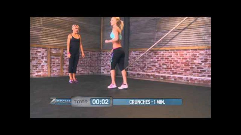 Workout with Lorna Jane and Zuzka Light