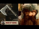 Gimli's Bearded Axe (Lord of the Rings) - MAN AT ARMS