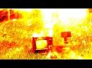Молния ударила в телевизор! Жесть. Поймали грозу змеем
