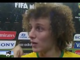 David Luiz crying after the loss of Brazil 1/7 Germany world cup brazil 08.07.2014