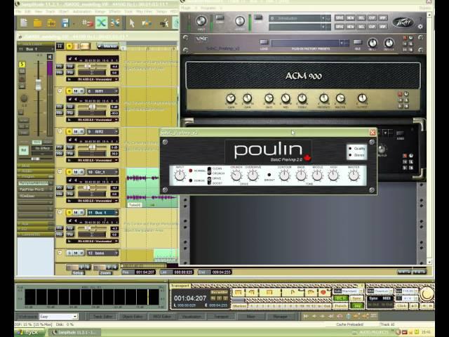 Моделирование гитарного звука в Revalver MK lll.V