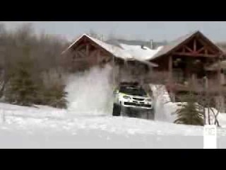 Самый быстрый снегоход в мире  Subaru TRAX STI