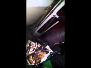 Видео аварии скоростного трамвая в тоннеле
