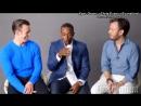 Интервью Криса и Энтони Маки для «Entertainment Weekly» (Rus Sub)