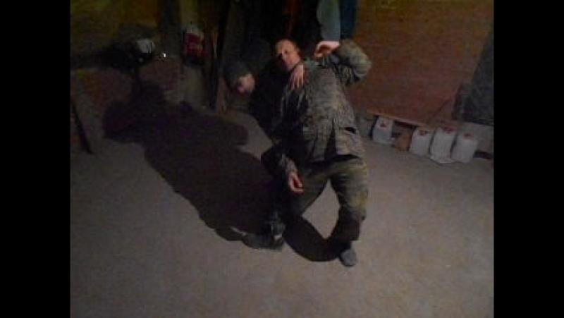 Русский кулачный (рукопашный) бой. Скобарь. Краснодар, ночная тренировка 4