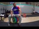 Dmitry Klokov France Lille clean jerk 220 kg