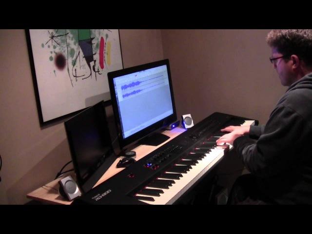 Мой ласковый и нежный зверь (My Sweet and Tender Beast) - вальс - Евгений Дога - фортепиано но...