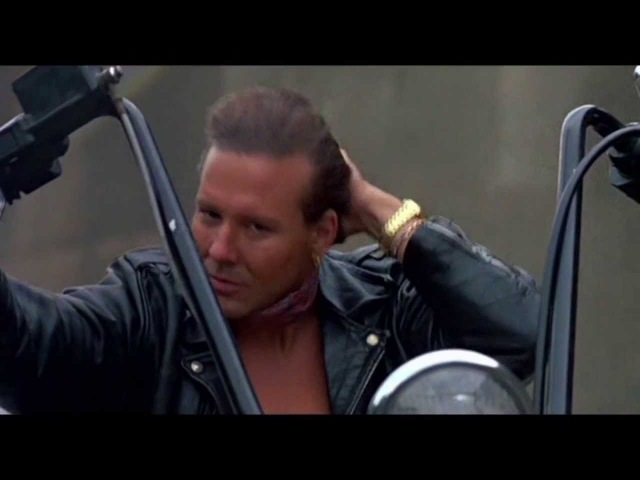 MICKEY ROURKE.( Depeche ModeNever Let Me Down Again)