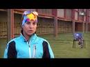 HDL Victoria Padial, la primera española en subirse a un podio europeo de biatlón