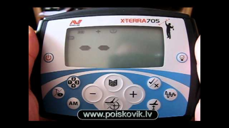 X-TERRA 705 Видео инструкция на руском языке www.livonian.lv