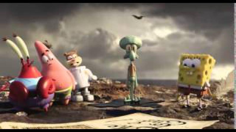 Губка Боб в 3D 2015 Трейлер 2 YouTube 480p