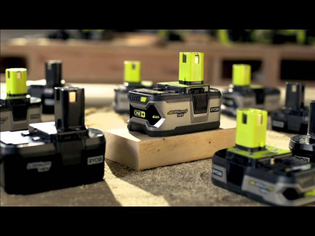 Ryobi ONE - The one system that delivers more