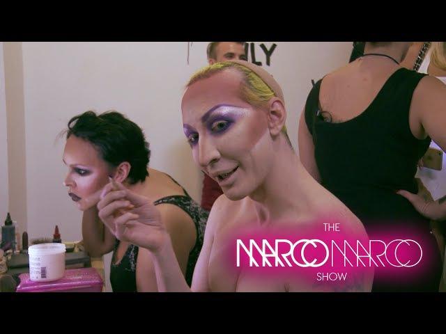 MarcoMarcoShow - Pt. 1 Backstage LA w/ Raja, Sharon Needles, Detox, Vicky Vox, Yara Sofia, and more