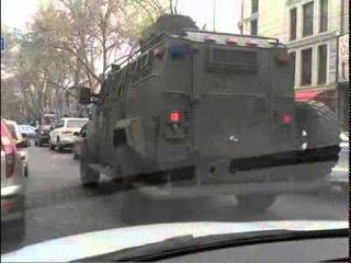 В Одессу пригнали военную технику для «мирных праздников»