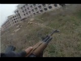 Syria Civil War - Clashes And Insane Heavy Intense Urban Combat Firefight Helmet Cam Fighting Action