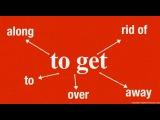 Разговорные выражения. To get и его предлоги. Урок английского языка для всех.