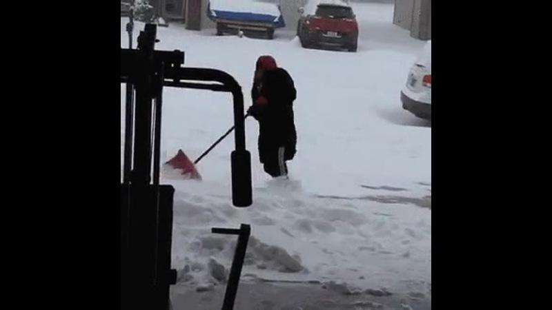 Когда надоело убирать снег