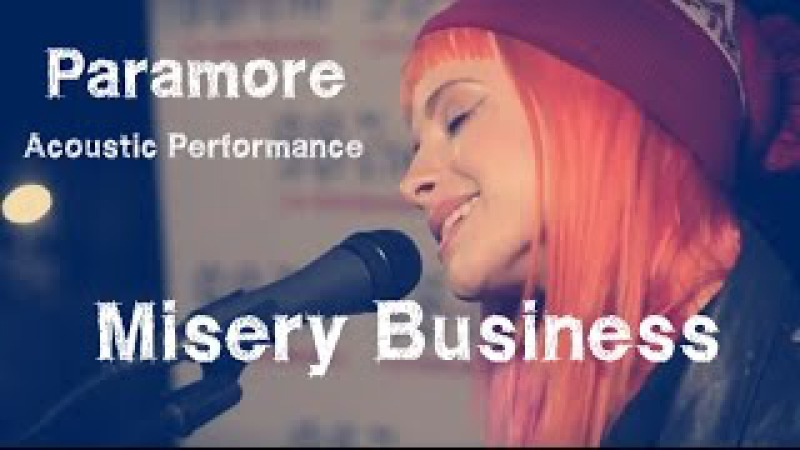 Live Performance of Paramore's Misery Business | GRAMMYs