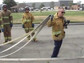 Advancing a triple layer load Captain Truhill
