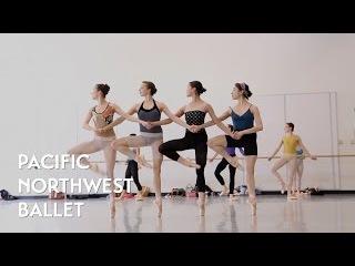 Swan Lake - Pas de Quatre (Dance of the Cygnets Act 2) rehearsal