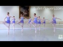 Vaganova Ballet Academy. Exercises on pointe, Classical Dance Exam. Girls, 4th class. 2015