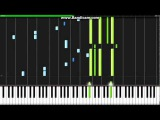 Psycho Pass ED2 - All Alone With You - Synthesia (Piano) (TehIshter)