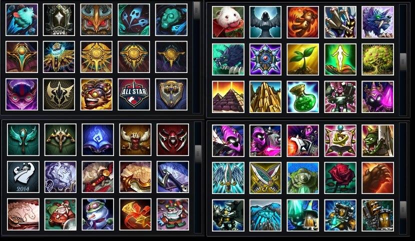 Продам аккаунт League Of Legends. RU сервер.