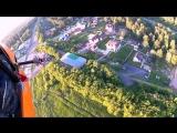 Аэрошют Air Fox первый полет Николая Астанина
