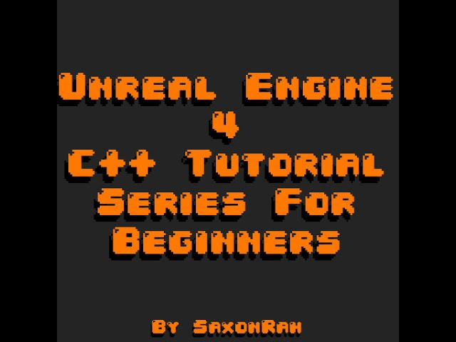 Beginner C with Unreal Engine 4 4 - Naming conventions and Common Data Types
