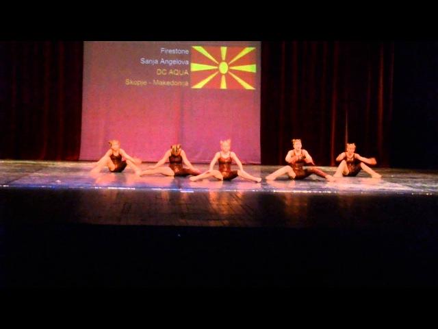 AQUA | Skopje Open 2015 - 1st place Jazz Group Junior Firestone
