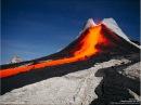 Извержение вулкана Плоский Толбачик. Камчатка