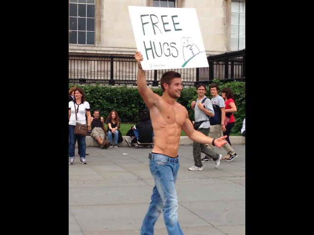 Free Hugs London